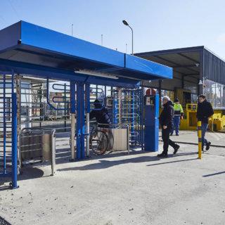Fietstourniquet NMBS Mechelen